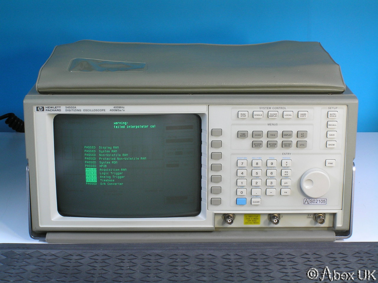 Hp Digital Oscilloscope : Hp agilent a mhz msa s digital storage