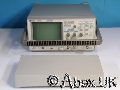 HP (Agilent) 54600B Dual channel 100MHz Digital Oscilloscope with RS232