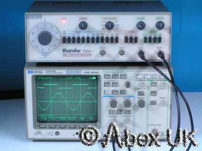 HP (Agilent) 54600B Dual channel 100MHz Digital Oscilloscope with GPIB