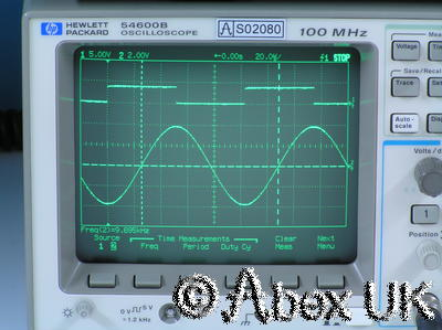 HP (Agilent) 54600B Dual channel 100MHz Digital Oscilloscope with GPIB