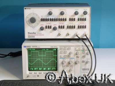 HP (Agilent) 54600B Dual channel 100MHz Digital Oscilloscope (3)