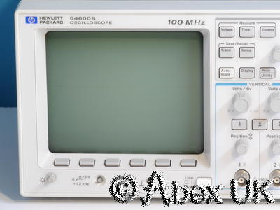 HP (Agilent) 54600B Dual channel 100MHz Digital Oscilloscope (3)