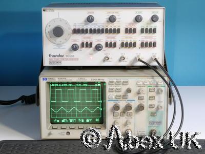 HP (Agilent) 54615B Dual channel 500MHz 1GS Digital Oscilloscope
