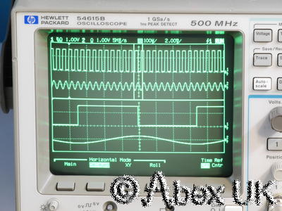 HP (Agilent) 54615B Dual channel 500MHz 1GS Digital Oscilloscope