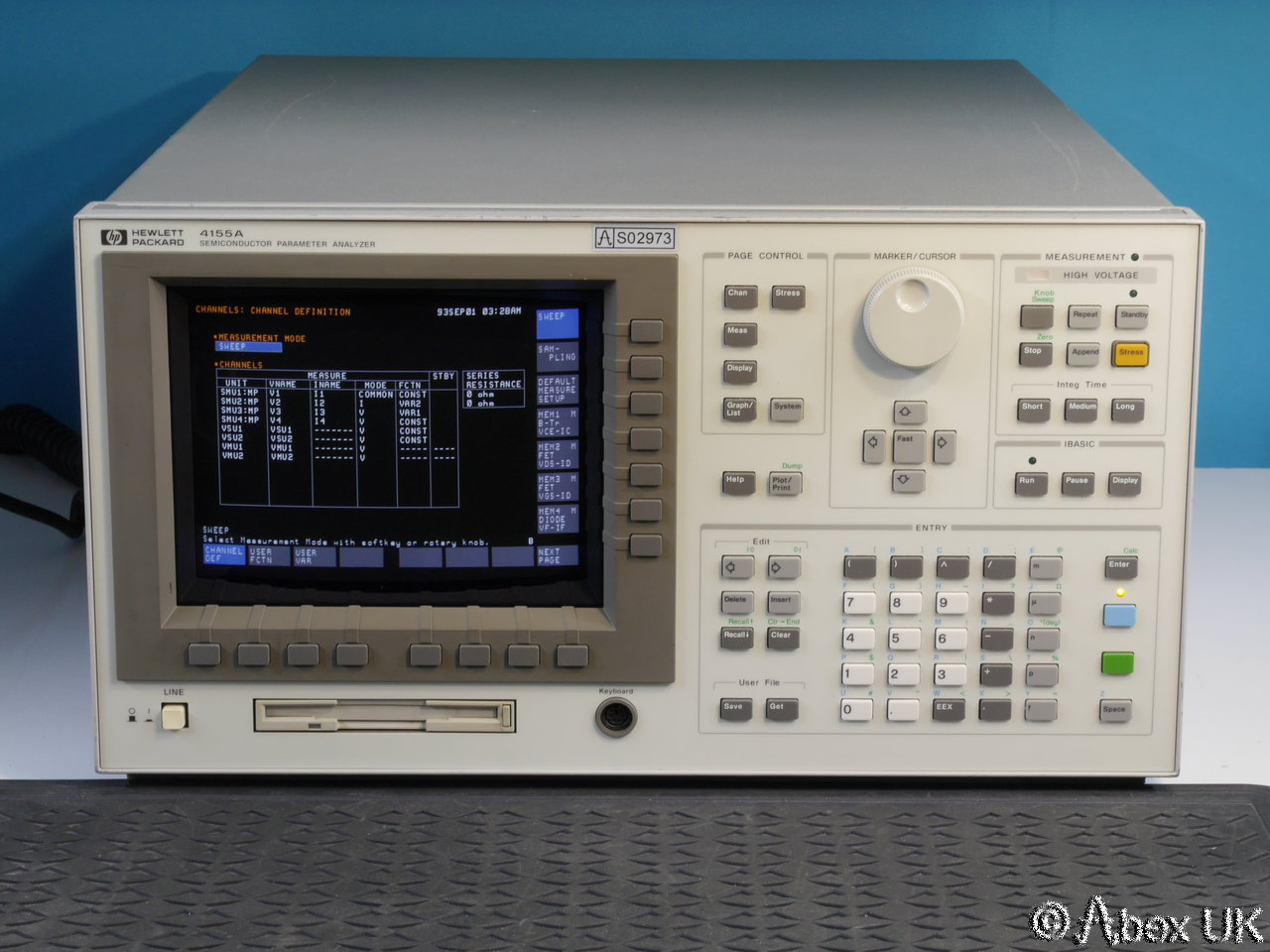 Hp Agilent 4155a Semiconductor Parameter Analyser Curve Tracer Circuit Oscilloscope