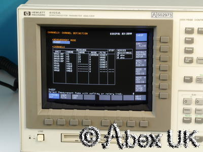 HP (Agilent) 4155a Semiconductor Parameter Analyser (Curve Tracer)