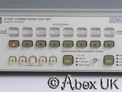 HP (Agilent) 11729C Phase Noise Test Set 10MHz - 18GHz