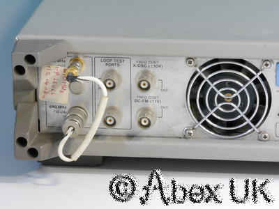 HP (Agilent) 11729C Phase Noise Test Set 10MHz - 18GHz