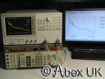 HP (Agilent) 4352B 3GHz VCO PLL Analyser Analyzer Opt 001