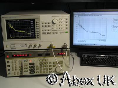 HP (Agilent) 4352B 3GHz VCO PLL Analyser Analyzer Opt 001