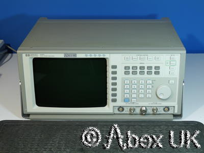 HP (Agilent) 8990A Peak Power Analyser with 84813A (26.5GHz) and 84815A (18GHz)