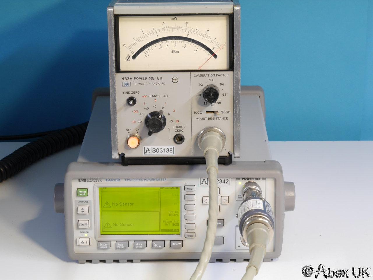 Hp Power Meter : Hp agilent a power meter