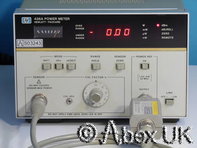 HP (Agilent) 436A Power Meter Option 022 GPIB (4)