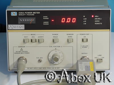 HP (Agilent) 436A Power Meter Option 022 GPIB (5)