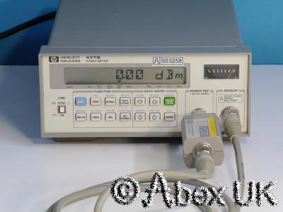 HP (Agilent) 437B RF Microwave Power Meter GPIB (9)