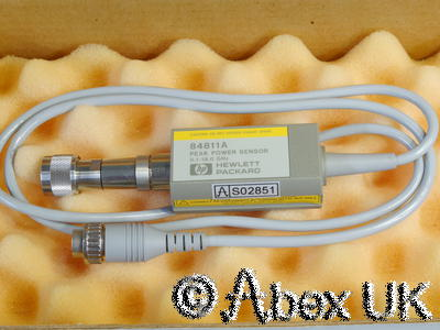 HP (Agilent) 84811A 18GHz Peak Power Sensor (Suits 8900C/D meter) NOS (2)