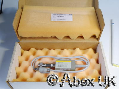HP (Agilent) 84811A 18GHz Peak Power Sensor (Suits 8900C/D meter) NOS (3)