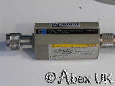 HP (Agilent) 8481A Power Sensor - Faulty