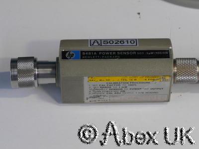 HP (Agilent) 8481A Power Sensor - Faulty