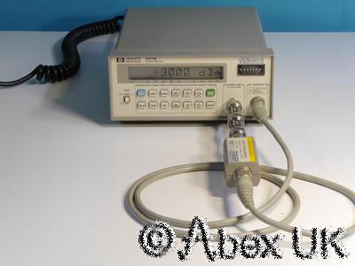 HP (Agilent) 8481D Low Power Sensor -70dBm 18GHz (2)