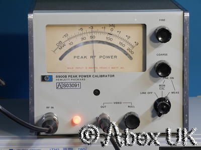 HP (Agilent) 8900B Peak Power Calibrator 50MHz - 2GHz
