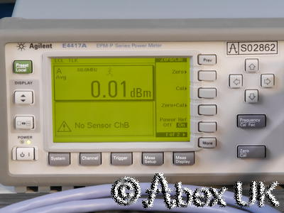Agilent (HP) E4417A EPM-P Dual Input Peak/Average Power Meter