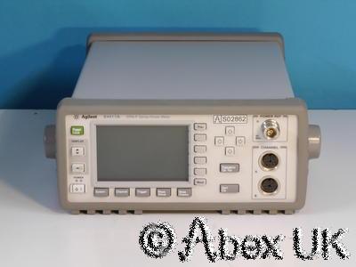 Agilent (HP) E4417A EPM-P Dual Input Peak/Average Power Meter