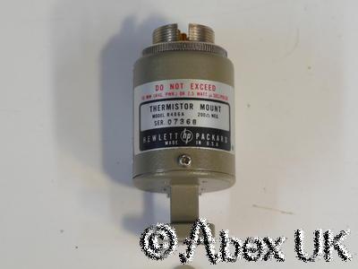 HP (Agilent) R486A 26.5 - 40GHz 10mW WG22 Power Sensor for 432A/B Meter NOS (4)