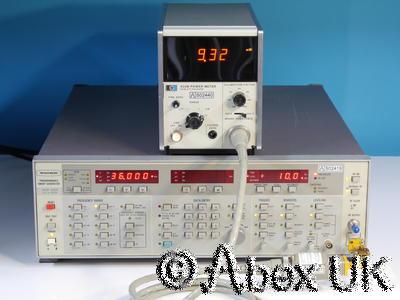 HP (Agilent) R486A 26.5 - 40GHz 10mW WG22 Power Sensor for 432A or B Meter (1)