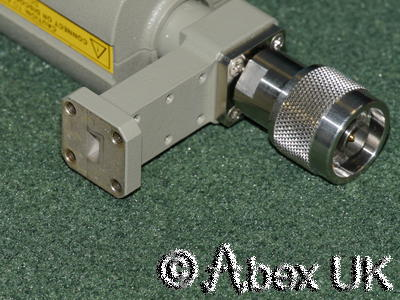 HP (Agilent) R8486A W/G Low Power Sensor -70dBm 26.5 - 40.0GHz