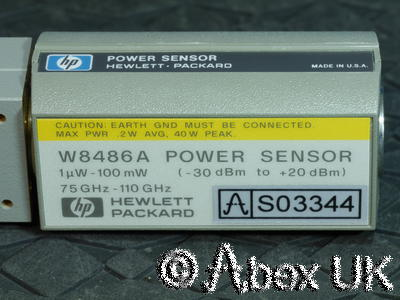 HP (Agilent) W8486A Power Sensor W-Band WR10 75 - 110GHz