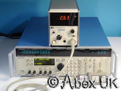HP (Agilent) X486A 8.2 - 12.4GHz 10mW WG16 Power Sensor for 432A/B Meter NOS (1)