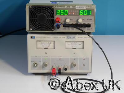 HP (Agilent) 6024A Power Supply, 60V 10A 200W Autoranging