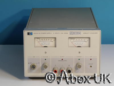 HP (Agilent) 6024A Power Supply, 60V 10A 200W Autoranging