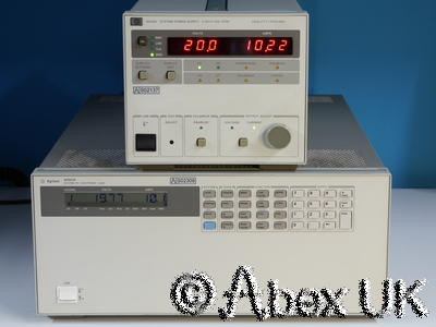 HP (Agilent) 6033A 20V 30A 200W DC Power Supply with GPIB
