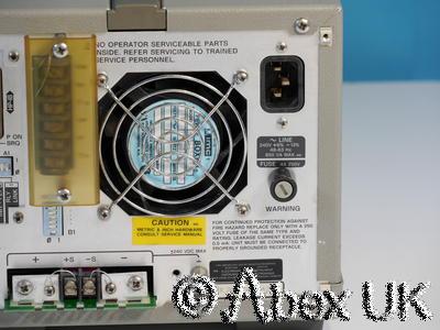HP (Agilent) 6033A 20V 30A 200W DC Power Supply with GPIB