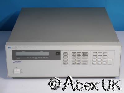 HP (Agilent) 6625a System Power Supply 50V 0.5A and 16V 2A / 50V 1A