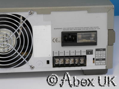 HP (Agilent) 6625a System Power Supply 50V 0.5A and 16V 2A / 50V 1A