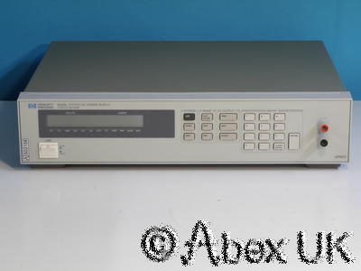 HP (Agilent) 6633A System Power Supply 0-50V 0-2A