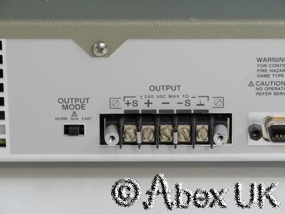HP (Agilent) 6633A System Power Supply 0-50V 0-2A