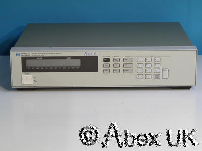 HP (Agilent) 6633A System Power Supply 0-50V 0-2A (2)