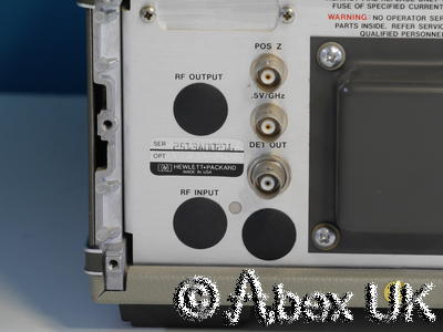 HP (Agilent) 8349B 2.0 - 20GHz Microwave Amplifier