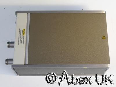 HP (Agilent) 8447E 0.1 - 1300MHz RF Pre-Amplifier Option 010 Type-N (2)