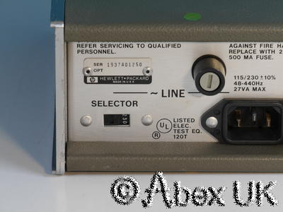 HP (Agilent) 8447E 0.1 - 1300MHz RF Pre-Amplifier Option 010 Type-N (3)