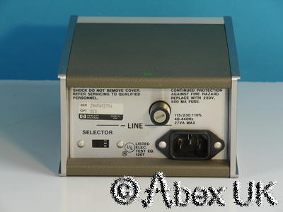 HP (Agilent) 8447E 0.1 - 1300MHz (2GHz) RF Pre-Amplifier Option 010 Type-N (6)