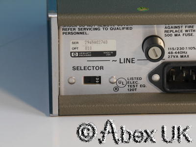 HP (Agilent) 8447E 0.1 - 1300MHz (2GHz) RF Pre-Amplifier Option 010 Type-N (7)