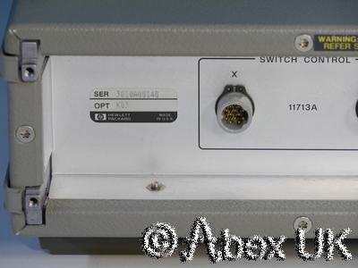 HP (Agilent) 8760A-K03 Microwave Switch Matrix *N-Connectors* (1)