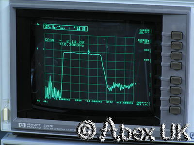 HP (Agilent) 8757E Scalar Network Analyser
