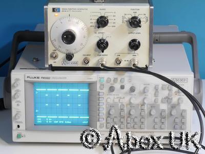 HP (Agilent) 3310A 5MHz Vintage Function Generator (2)