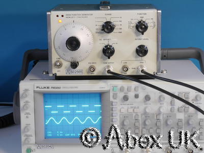 HP (Agilent) 3310A 5MHz Vintage Function Generator